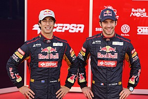 Vergne vows to keep 'tension' low with Ricciardo