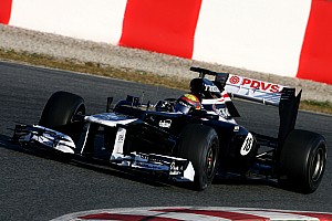 Williams Australian GP - Melbourne Friday practice report