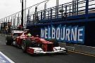 Ferrari at the Australian GP - Clouds cloud judgement