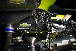 IndyCar  Chevrolet V-6 engine ready for competition debut at St. Pete