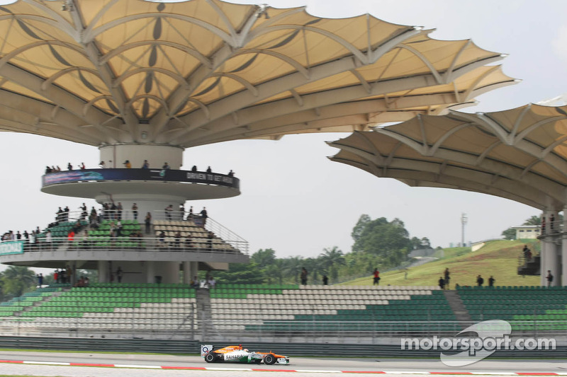 Force India Malaysian GP - Sepang Friday report