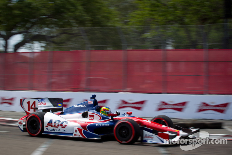AJ Foyt Racing St. Pete race report