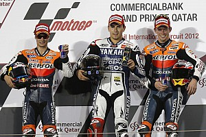 MotoGP Lorenzo claims maiden victory of 1000cc MotoGP era at Qatar