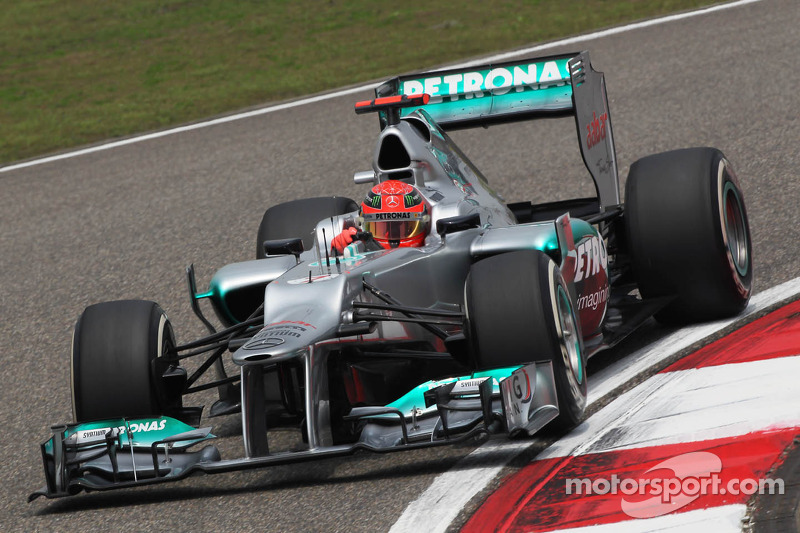 Mercedes Chinese GP - Shanghai qualifying report