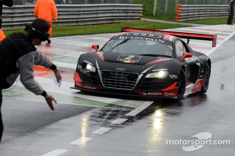 Belgian Audi Club Team WRT Monza race report