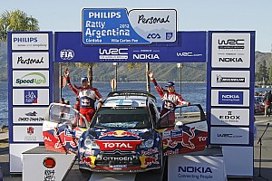 WRC Citroen Rally Argentina final summary