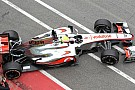 McLaren tested higher nose at Mugello 