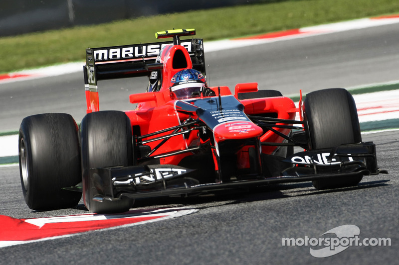 Marussia Spanish GP Friday report