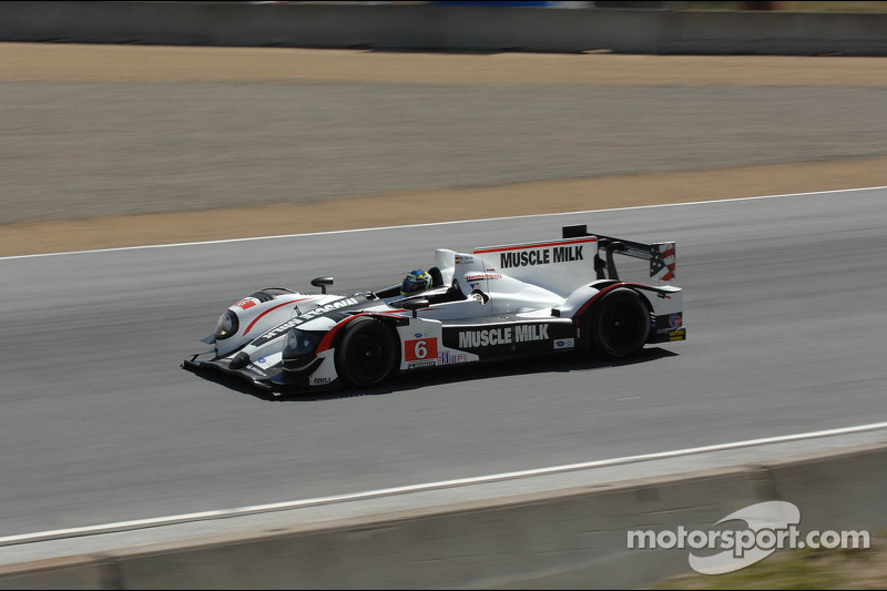 Graf and Luhr run away with Laguna Seca victory