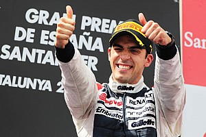 Formula 1 Maldonado holds off Alonso in Spanish GP to grab his maiden win