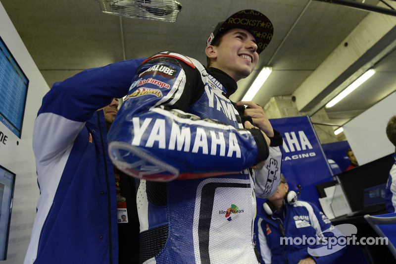 Yamaha Factory team French GP qualifying report