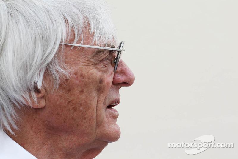 Politics steered France return off track - Ecclestone