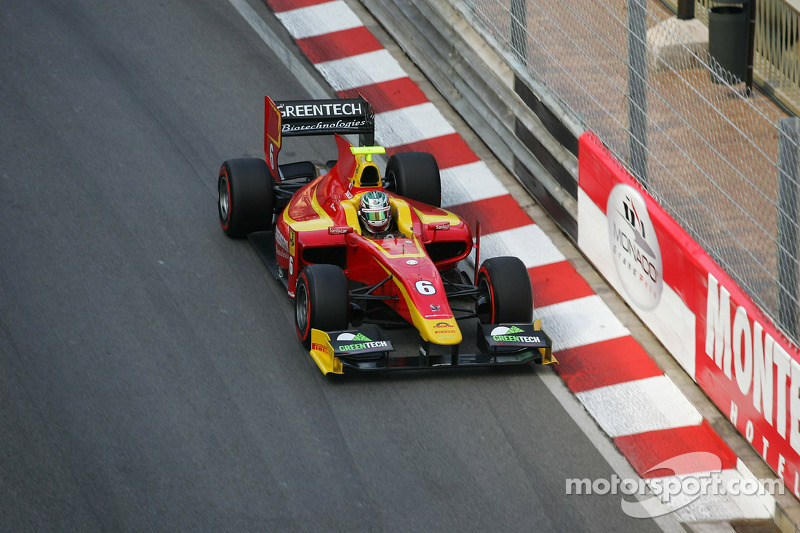 Berthon in the points for Racing Engineering in today's Monaco Sprint Race.