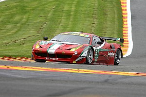 AF Corse teams knows test day on la Sarthe is first step