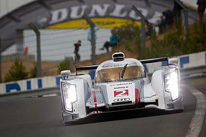 Le Mans McNish takes Audi e-Tron to top the timesheets on Le Mans test day
