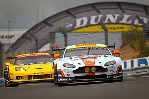 Aston Martin Vantage GTEs qualify second and third for Le Mans