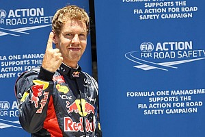 Formula 1 Qualifying report Vettel grabs European GP pole on final flying lap