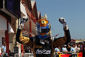 GP2 Race report Lotus GP gets a win and a second at Valenica