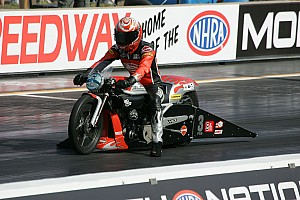 NHRA Breaking news Harley-Davidson extends official status and  programs to 2016