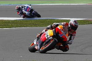 MotoGP Qualifying report Stoner snatches last minute pole at Assen
