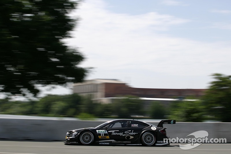 Ice cold in the sweltering heat - Gary Paffett claims pole at Norisring