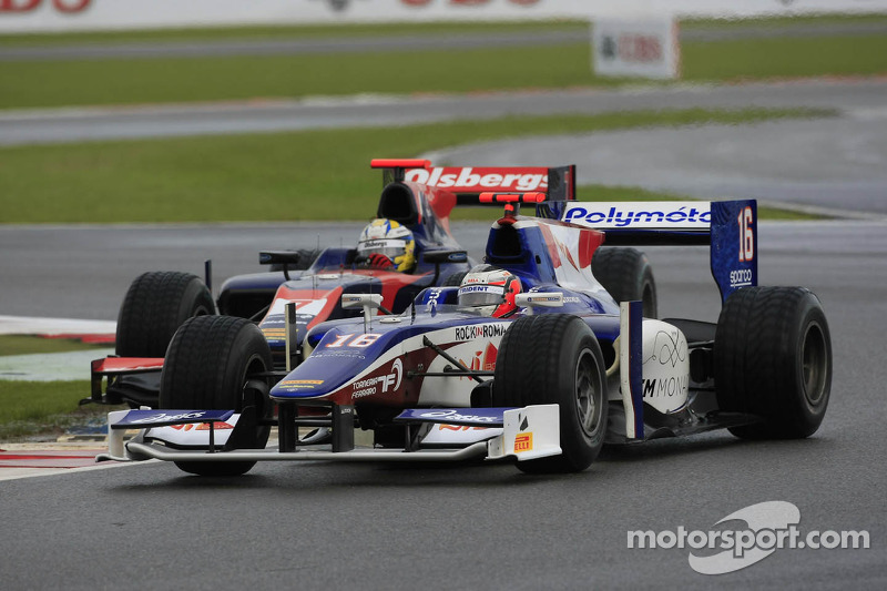 Trident Racing has bad luck in Sprint race at Silverstone