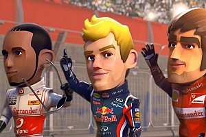 F1 RACE STARS - F1 meets Mario Kart - Video