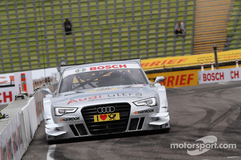Audi youngster causes surprise
