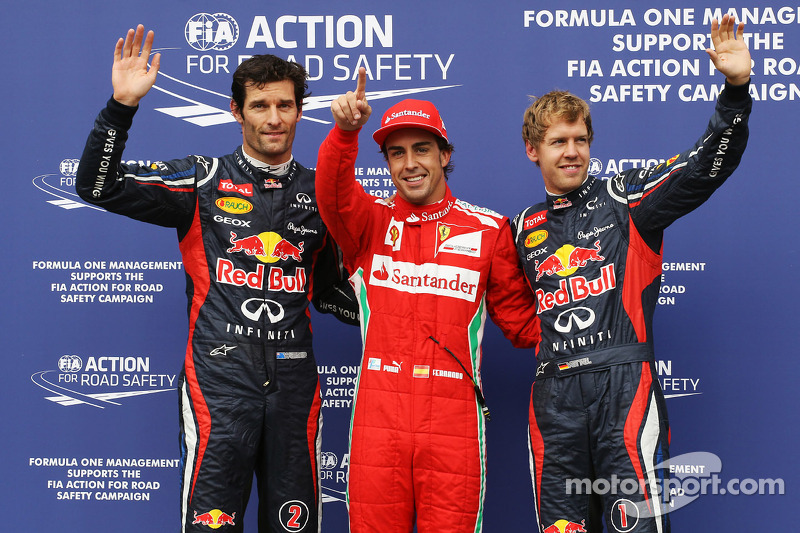 Alonso claims pole in the rain at Hockenheim
