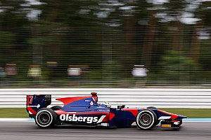 GP2 Race report Promising race pace for iSport ends in frustration at Hockenheim