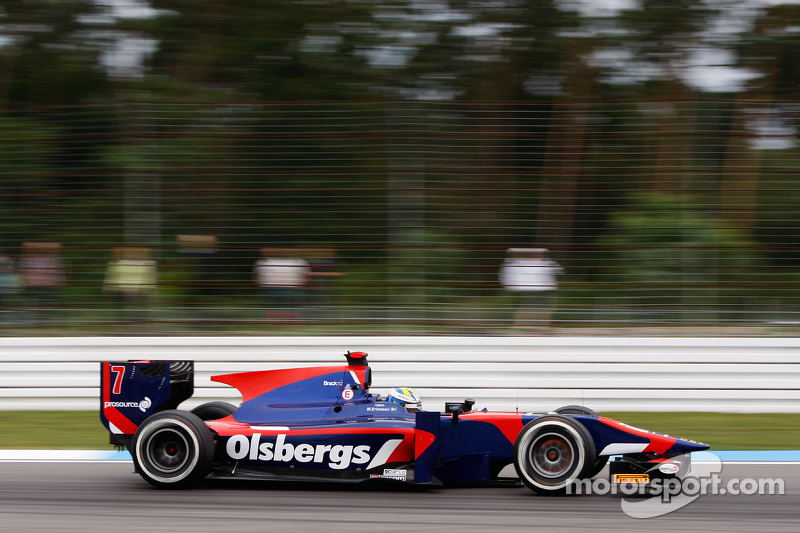 Promising race pace for iSport ends in frustration at Hockenheim