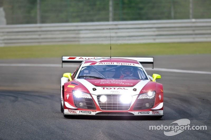 Audi holds 1-2-3 as Spa 24 enters final hours