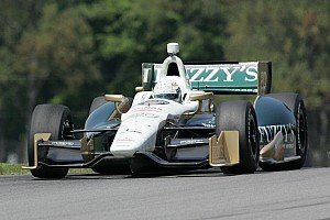 IndyCar Qualifying report Ed Carpenter improves speed in Mid-Ohio qualifying