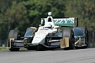 Ed Carpenter improves speed in Mid-Ohio qualifying