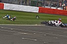 Wild finishes and weather played havoc for Silverstone races - Video