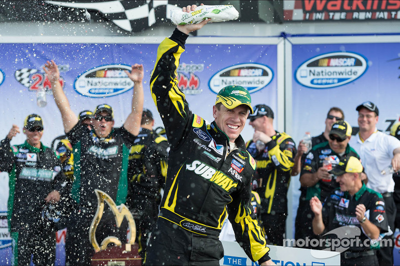Edwards defeats Keselowski at The Glen