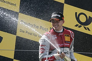 DTM Race report Edoardo Mortara clinches podium for Audi at Nürburgring