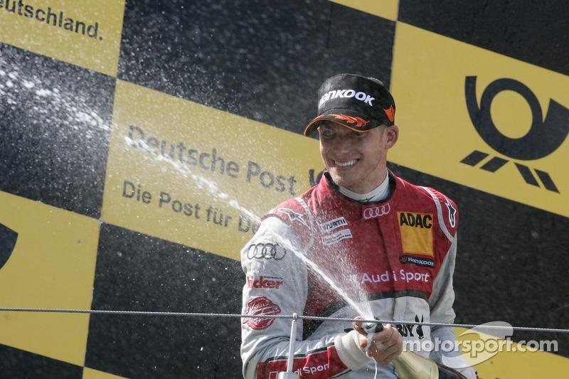 Edoardo Mortara clinches podium for Audi at Nürburgring