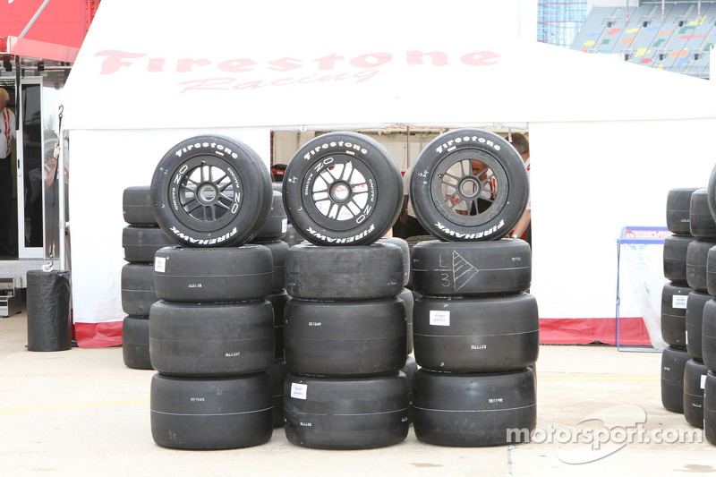 Firestone sets tire specs for Sonoma Raceway weekend