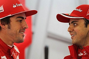 Watch Alonso & Massa beat on a couple of F12 Berlinettas like they were Hertz rental cars - video