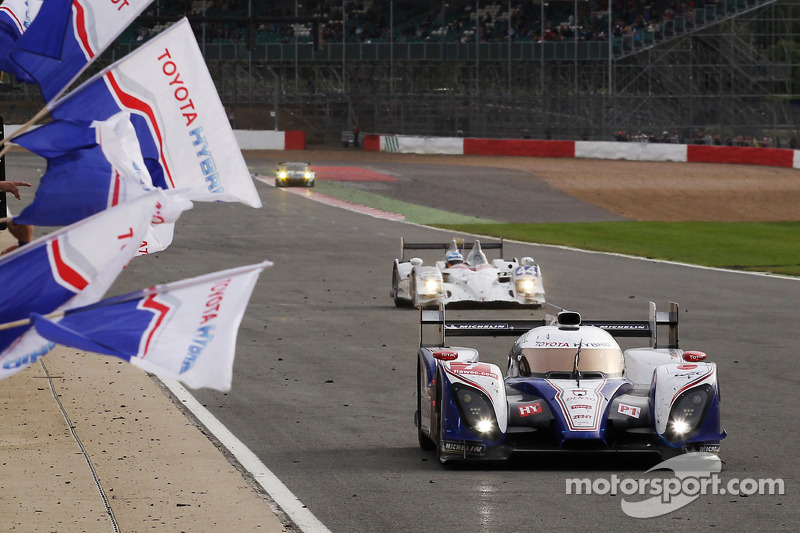 First podium finish for Toyota racing in Silverstone