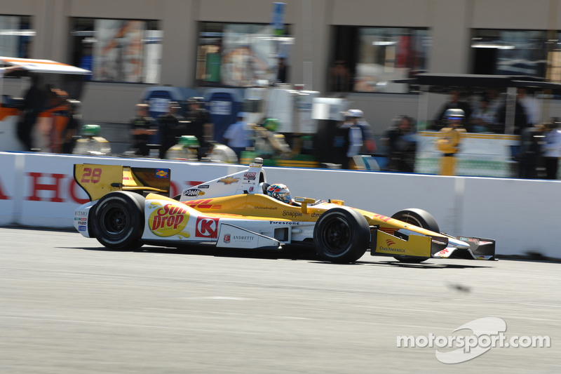 Bad Sunday race for Andretti Autosport team at Sonoma