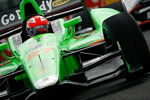 Hinchcliffe leads Andretti Autosport Friday efforts at Baltimore