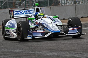 IndyCar Qualifying report KV Racing's claims eighth in Baltimore qualifying, expects to start sixth