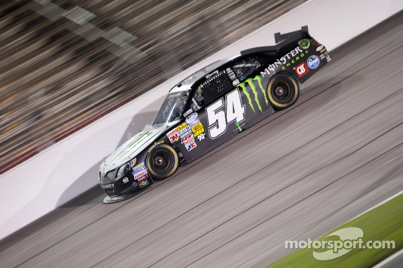 Hot Atlanta night yields seventh-place finish for KBM