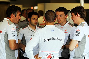 Hamilton rumours 'out of proportion' - Whitmarsh