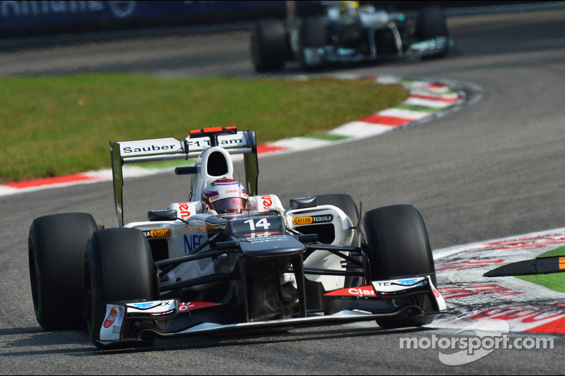Midfield qualifying for Sauber at Monza