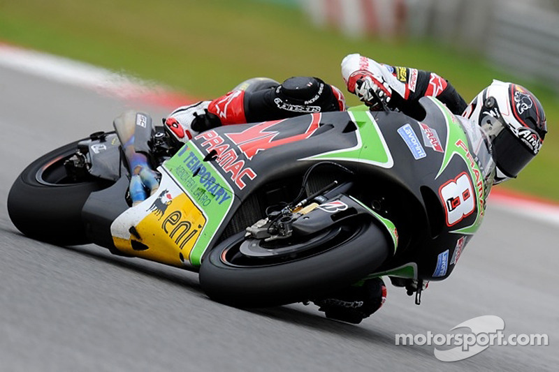 Tricky weather affect Pramac first day of free practices at Misano