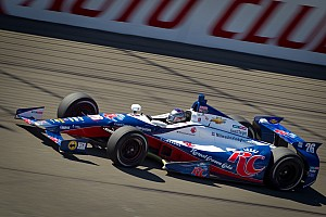 IndyCar Qualifying report Marco Andretti leads Chevrolet  in Fontana qualifying
