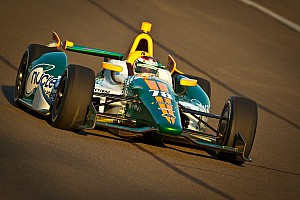 IndyCar Qualifying report Busy week for Lotus HVM Racing in Fontana
